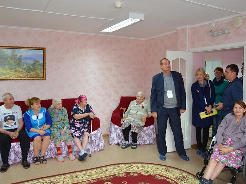 приюты дома для престарелых