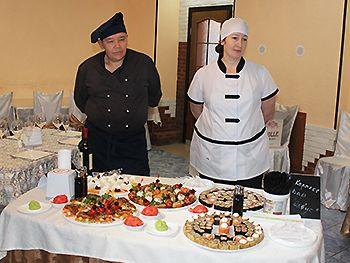 Сценарии конкурса официантов